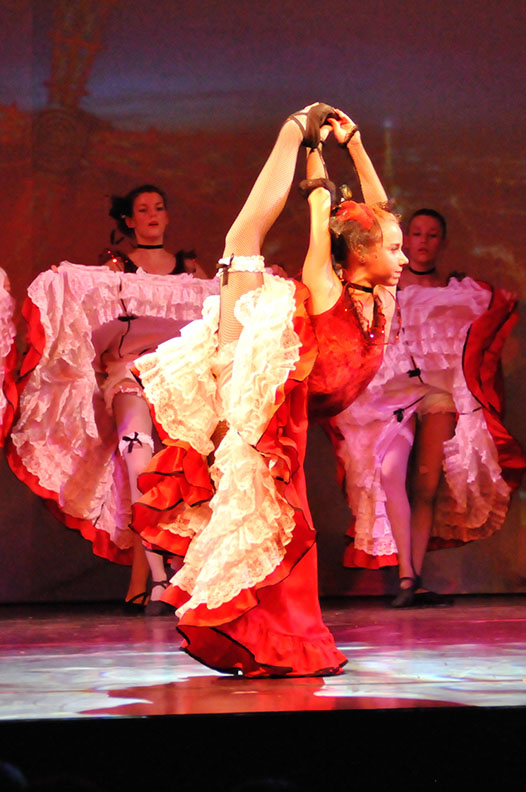 spectacle 2015 French Cancan